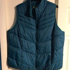 Stylish Teal Quilted Vest